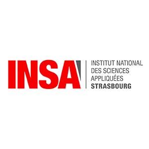 Logo Institut National des Sciences Appliquées Strasbourg