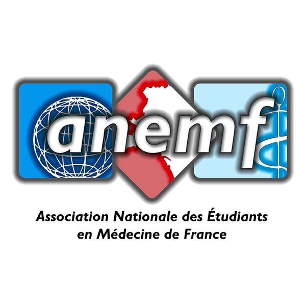 Logo Association Nationale des étudiants en médecine de France