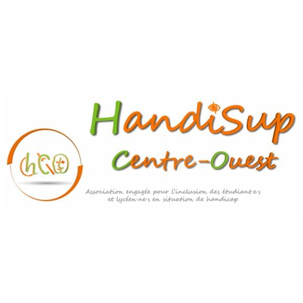 Logo HandiSup Centre Ouest