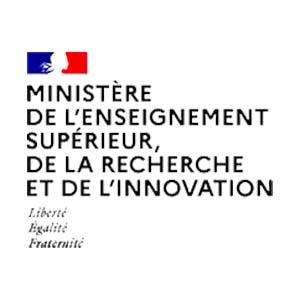 Logo ministère de l'enseignement supérieur, de la recherche et de l'innovation