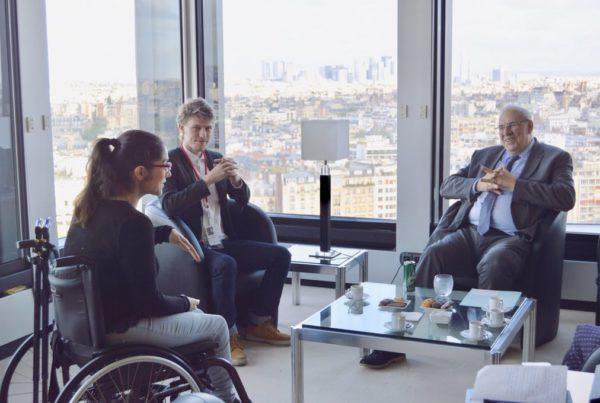 Image Intervenants dans le cadre des Duoday fédé 100% handinamique